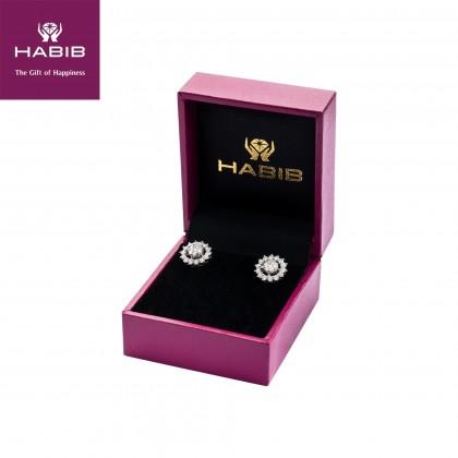 Elsie Diamond Earrings in 750/18K White Gold 24283(E)