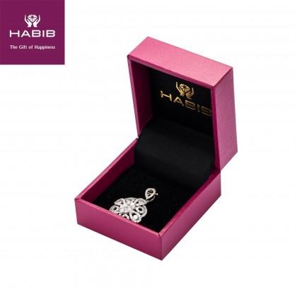 Erina Diamond Pendant in 750/18K White Gold 24435(P)