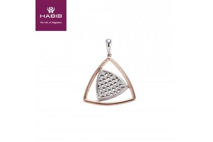 HABIB Triad Diamond Pendant