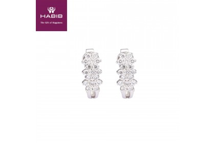 HABIB Aster White Gold Diamond Earrings