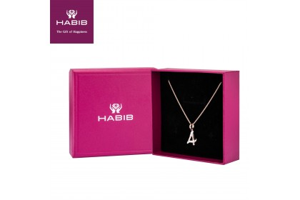 HABIB Corsiva-4 Numeric Diamond Necklace