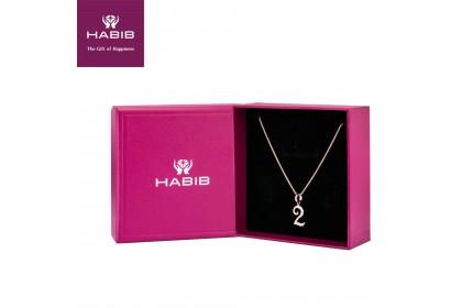HABIB Corsiva-2 Numeric Diamond Necklace