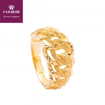 Alyss Gold Ring, 916 Gold (4.48G) R5976(B)-S