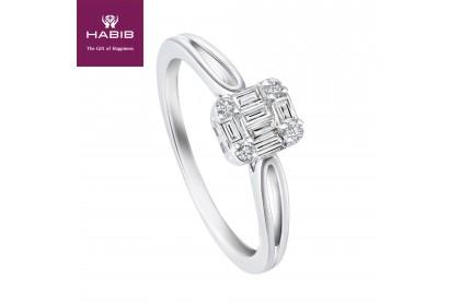 Fire on Ice Doux Diamond Ring