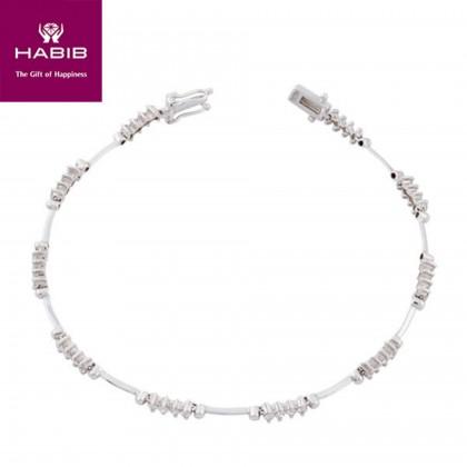 Atol Das Rocas Diamond Bracelet in 750/18K white gold 67207