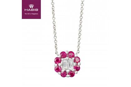 HABIB Augustus Ruby Diamond Necklace