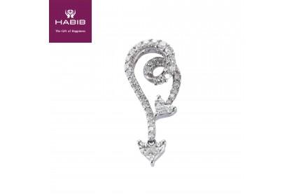 HABIB LE Tangling Knot Diamond Pendant