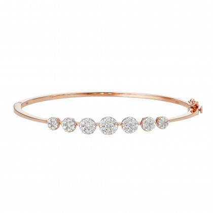 Adore Anna Maria Rose Gold Diamond Bangle in 750/18K Rose Gold 67867-RG
