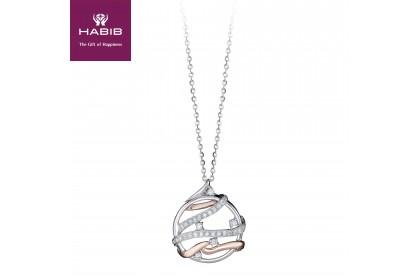 HABIB Binding Love Diamond Necklace