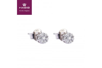 HABIB A La Solitaire Diamond Earrings (0.20ct) (0.90G)