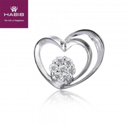 Adore Nyasa Diamond Pendant in 750/18K White Gold 34951