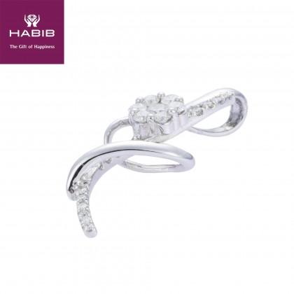 Adore Mibakaou Diamond Pendant in 750/18K White Gold 34530