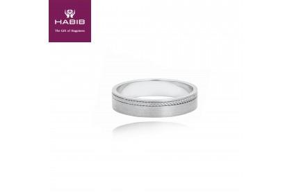 Otoko 750/18K White Gold Ring (3.25G)