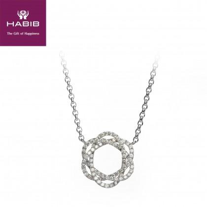 Too Nikko Diamond Necklace in 750/18K White Gold 45534(N)