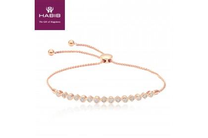 HABIB Asridytidae Rose Gold Diamond Bracelet