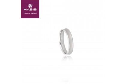 Sumato 750/18K White Gold Ring (2.65G)