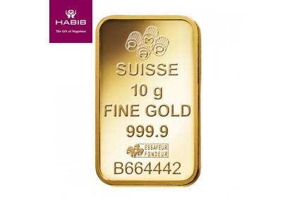PAMP Suisse 10.00G Gold Bar - Rosse