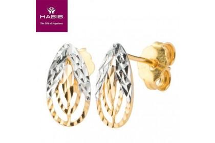 Uomo Gold Earrings (2.16G-2.18G)