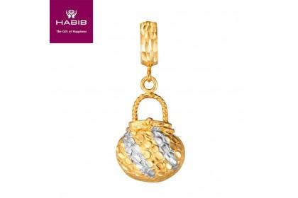 Round Bag Gold Charm (3.09G)