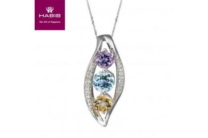 Trio Diamond Necklace