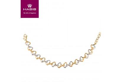 HABIB Capucine Gold Bracelet, 916 Gold (12.48G)