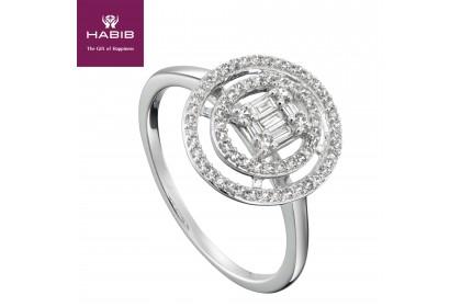 Fire on Ice Faith Diamond Ring