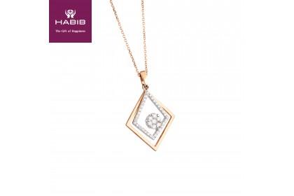 Adore Aksara Diamond Necklace