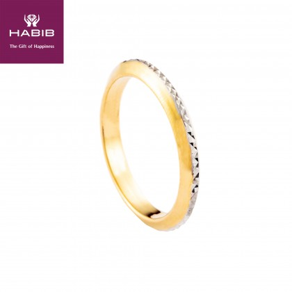 Briar White and Yellow Gold Ring (1.75G) R4984(1)