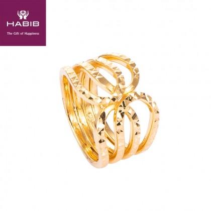 Brocklyn Gold Ring, 916 Gold (6.60G) R4554