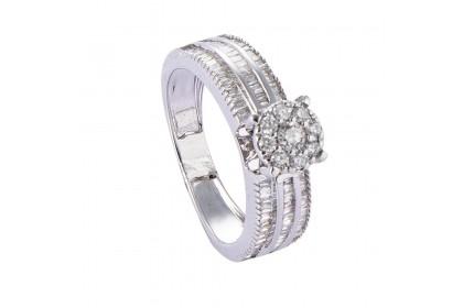 Vistaria Diamond Ring