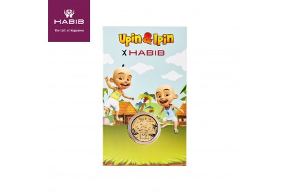 HABIB Upin Ipin Gold Wafer, 999 Gold (0.20G)