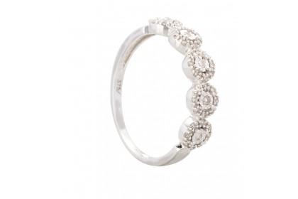 Blingtastic White Diamond Ring