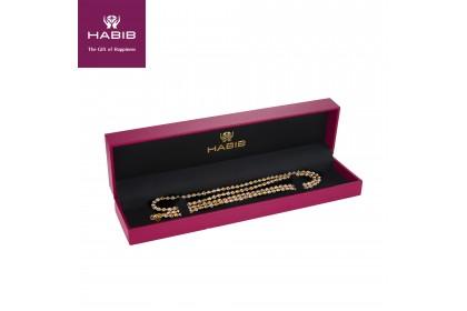 Oro Italia 916 Piccolo White, Yellow and Rose Gold Necklace (26.15G) GC2261-TI