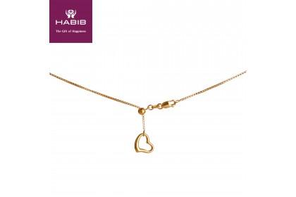 Oro Italia 916 Yellow Gold Necklace (6.07G) GC2468(B)