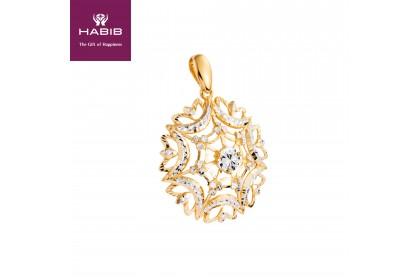 Aphrodite White and Yellow Gold Pendant (7.28G)