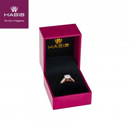 Polaris Blythe Diamond Ring in 750/18K Rose Gold 24805