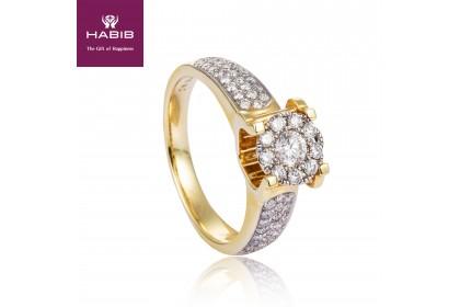 Polaris Brooka Yellow Diamond Ring