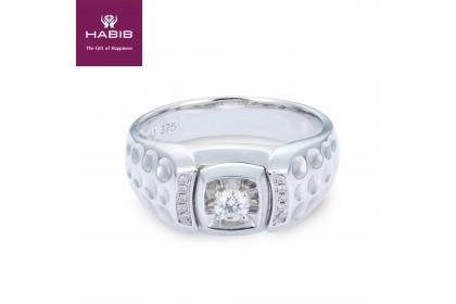 Betonica Diamond Men's Ring