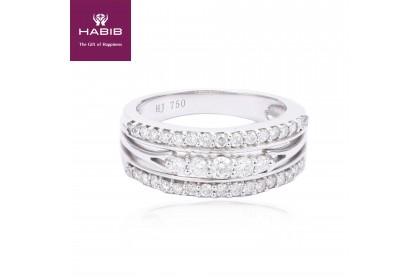 Periwinkle Diamond Ring