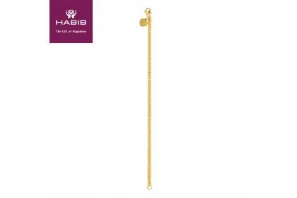 Sauh Lama Kosong Gold Bracelet, 916 Gold (13.03G) GW012