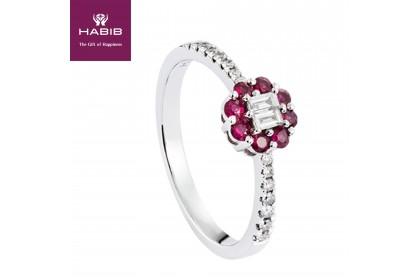 Augustus Ruby Diamond Ring