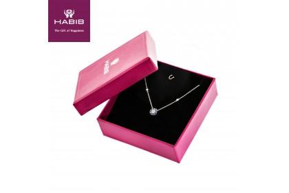 Augustus Blue Sapphire Diamond Necklace