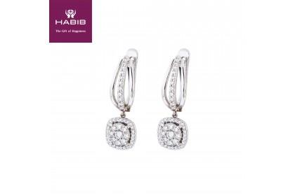 Polaris Luella White Diamond Earring