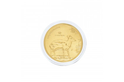 Mousedeer Zoo Negara Gold Wafer, 999 Gold (0.20G)