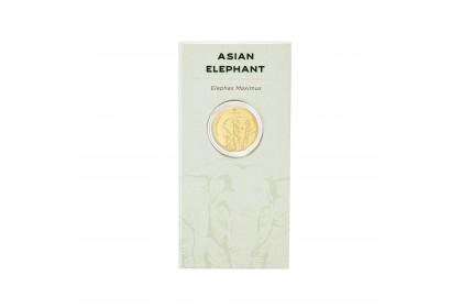 Asian Elephant Zoo Negara Gold Wafer, 999 Gold (0.20G)