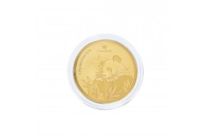 Panda Zoo Negara Gold Wafer, 999 Gold (0.20G)