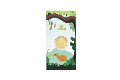 Zoo Series Gold Wafer, 999 Gold (0.20G)