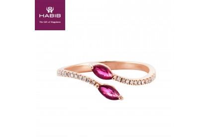 Biyu Ruby Diamond Ring