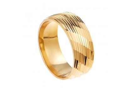 Oro Italia 916 Yellow Gold Ring (4.97G) GR44551220