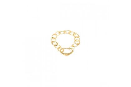 Oro Italia 916 Amore Yellow Gold Bracelet (27.91G) GW36230220(Y)